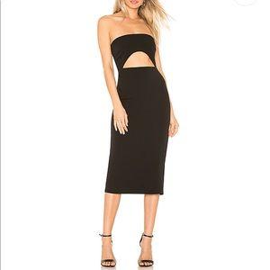 Lovers + Friends Denise Midi Dress Size S